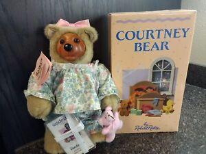 Courtney Sleepytime Robert Raikes Teddy Bear, Flawless Mint Condition