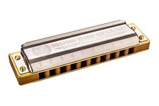 1//2 PRICE SALE $25 OFF Hohner Pro Harp MS Series Harmonica in F# Normally $49.95