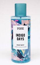 1 Victoria's Secret Pink INDIGO DAYS Jasmine Fragrance Mist Body Spray 8.4 oz