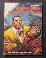 1955 Aug ASTOUNDING Science Fiction Digest Magazine VG/FN 5.0 Eric Frank Russell