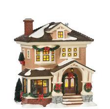 "Dept 56 Snow Village ""CHRISTMAS AT GRANDMA'S"" NIB FREE SHIPPING"