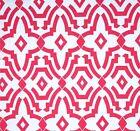 Decorator~Upholstery ~ Art Deco ~ Deep Pink ~ Fabric ~1/4 yard
