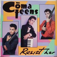 "Comateens - Resist Her 12"" LP VG+ Promo 880 151 1 Vinyl 1984 Record"