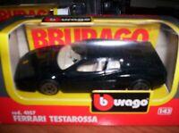 FERRARI  TESTAROSSA - 1984 - BURAGO - SCALA 1/43