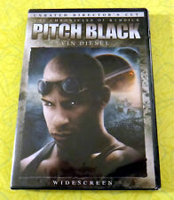 Pitch Black (Unrated Director's Cut) ~ New Dvd Movie ~ 1999 Vin Diesel Sci-Fi