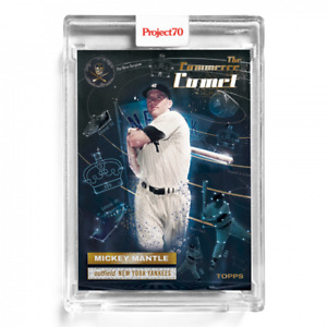 Topps PROJECT 70 Card 174 1956 Mickey Mantle by The Shoe Surgeon PRESALE #174
