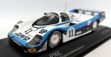 Voiture des 24 heures du mans de courses miniatures avec support pour Porsche