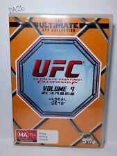 UFC Ultimate Collection Vol 9 (DVD, 5-Disc Set) UFC 78 to UFC 82 Region 4 (DA26)