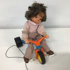 Playmates Hong Kong Vintage Child On Trike Pull Toy #459