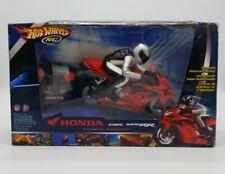 Hot Wheels RC Honda CBR 1000RR Motorcycle 2005 Mattel Remote Control in Box RARE