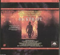 Backdraft Letterboxed Edition Laserdisc Movie