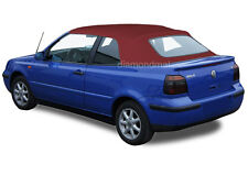 Volkswagen Golf Cabrio Cabriolet 1995-01 Convertible Soft Top Burgundy Stayfast