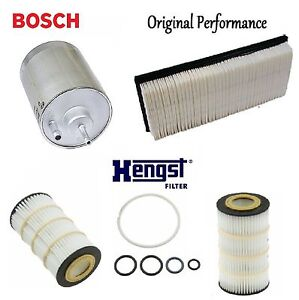 Tune Up Kit Air Oil Fuel Filters for Mercedes-Benz S430 2000-2006