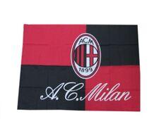 Bandiera Milan originale nuovo logo  ufficiale gigante 110 x 140 cm rossoneri AC