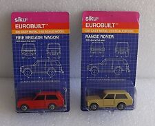MOC SIKU EUROBUILT DIE-CAST 1/55 RANGE ROVER FIRE BRIGADE WAGON OLD STORE STOCK