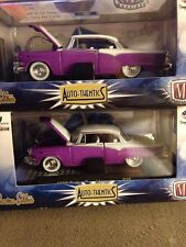 PAINT ERROR 1955 DODGE ROYAL LANCER PURPLE M2 MACHINES AUTO-THENTICS R30 14-59