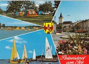 Podersdorf am See, Burgenland, Mehrbildkarte glum 1970? G4465