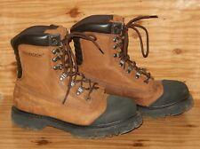 CHINOOK Tarantula Work Boots Men Size 10.5 Brown Steel Toe Waterproof