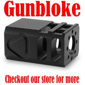 COMPACT2 Muzzle Brake Compensator 13.5x1LH suit 9mm H&K,SIG Sauer,Glock,Beretta