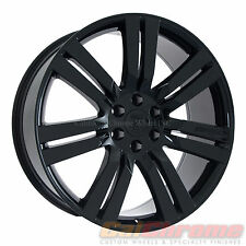 "24"" Cadillac Escalade Wheels Black Fits 2007-2015 Yukon Denali Chevy compare 22"""