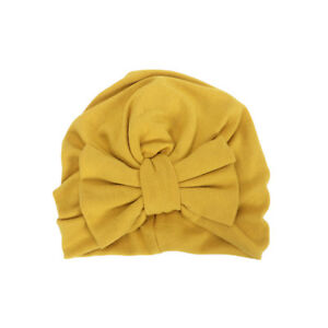 Toddler Baby Infant Winter Warm Soft Beanie Hats Caps Cute Big Bowknot Turban