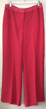 NWT Boden Marlin Wide Leg Pants Carnival Pink T0108 Size 10 R
