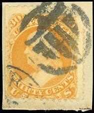 #71 F-Vf On Piece With Black Shield Cancel; Natural S.E. Bs9266