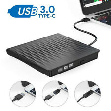 USB 3.0 Graveur Lecteur Externe DVD ROM Drive CD RW Burner Rewriter pr PC Laptop