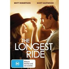 THE LONGEST RIDE-Britt Robertson, Scott Eastwood-Region 4-New AND Sealed