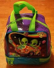 RARE vintage Lisa Frank alien lunch bag tote zoomer zorbit astro blast with TAG