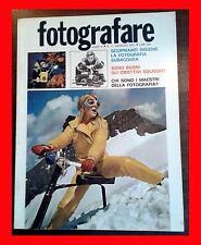 FOTOGRAFARE 1 1971 TEST SOLIGOR I MAESTRI: W. EUGENE SMITH FOTO DI C.HENNEGHIEN