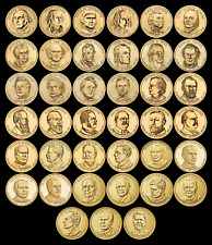 "COMPLETE Presidential Dollar Set ""Brilliant Uncirculated"" US (39 Coins Total) $$"