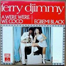 """FERRY DJIMMY A Were Were Coco 7"""" RARE FRENCH PS AFRO PSYCH GARAGE MINT!"""