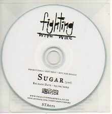 (879D) Fighting With Wire, Sugar - DJ CD