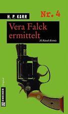 Vera Falck ermittelt von H. P. Karr (2013, Taschenbuch)