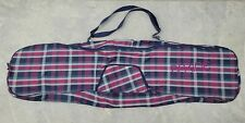 """Dakine Snowboard Tour Bag Pockets Carry Strap Checkered 58"""" x 17"""" Long Colorful"""