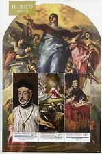 Grenadines Grenada 2015 MNH El Greco 3v M/S I Diego Covarrubias Paintings Stamps