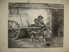 lithographie originale de GERICAULT