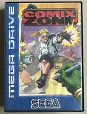 Comix Zone, Sega Mega Drive, PAL