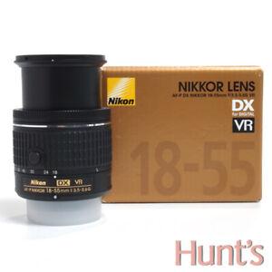 NIKON DX AF-P NIKKOR 18-55mm f3.5-5.6 G VR AUTO FOCUS ZOOM LENS