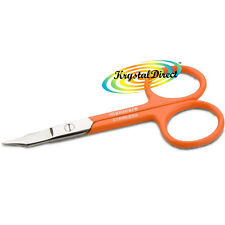 Manicare Nail Scissors With Pouch ORANGE Stainless Steel Non Rusting