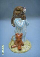 Vtg 1986 Royal Doulton Bedtime Bunnykins Db 55 Porcelain Praying Bunny Figurine