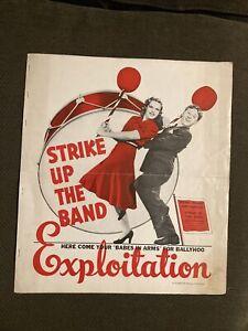 Strike Up The Band    - Original Movie Exploitation Book - Judy Garland