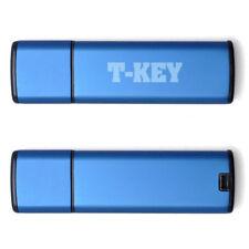 Unidad USB flash azul para ordenadores y tablets