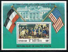 HAUTE-VOLTA:1976 SC#C244 S/S MNH American Bicentennial