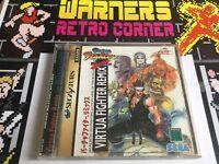 Sega Saturn Virtua Fighter Remix Japan Import Boxed Retro Game #retrogaming
