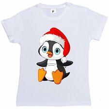 La MONTAGNA UNISEX BAMBINO Papà Pinguino T-shirt degli animali acquatici