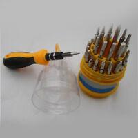 31 In 1 Precision Set Handle Screwdriver Mobile Phone Repair Kit Tool wef