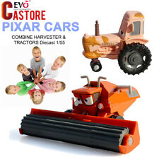 1:15 Lot Pixar Cars FRANK THE COMBINE HARVESTER & TRACTOR Diecast Action Toy
