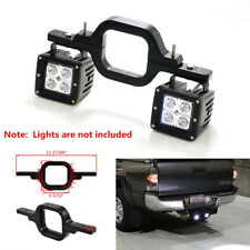 Dual LED Light Pod Tow Trailer Hitch Mount Bracket Reverse Backup Lamp Bar